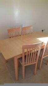 Extendable Dinning table