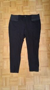 Two black pants for $15
