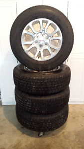 """18"""" GMC Truck Tires and Rims - Like New Condition!"""