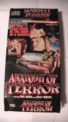 Anatomy Of Terror Thriller Video Big Box 1973 Horror Mystery Crime Spy Fantasy  - $59.99