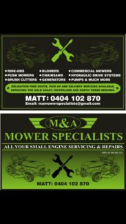CHAINSAW REPAIRS Bonogin Gold Coast South Preview