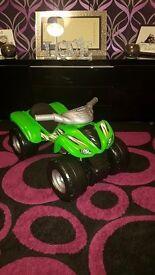 Kawasaki Ride on Quad