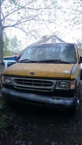 2001 Ford E-350 Cargo Van