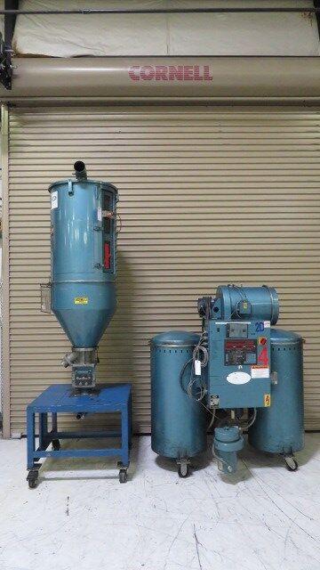 Una-Dyn Used DHD-6SB W/II-X Material Dryer, Desiccant, App. 50 lb/hr, 460V,#8196