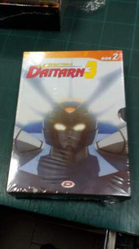 DVD Daitarn3 box 2 pz vol.3-4