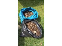 Bags of stones from garden can be used as hardcore need gone asp