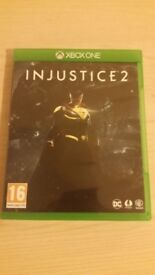 As new X box one games ( injustice 2 )