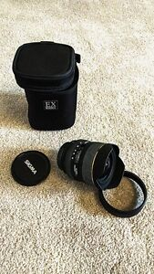 Sigma DG EX HSM 12-24mm Wide Angle Lens for Canon