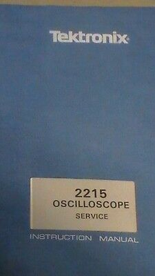 Tek 2215 Oscilloscope Operators Instruction Manual 1981 Rev