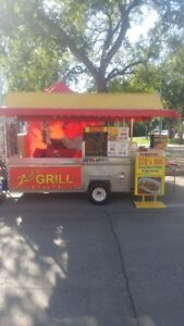 Hot Dog Cart & Storage Truck For Sale