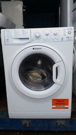 8kg 'Hotpoint' Washer Dryer - Excellent condition (6 months old) / Free local delivery and fitting