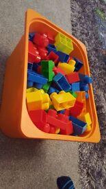 mega blocks (box not included)