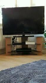 """Sanyo 42"""" TV with Stand"""