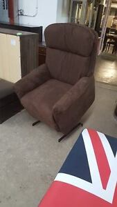 Brown lift/reclining chair - Delivery Available