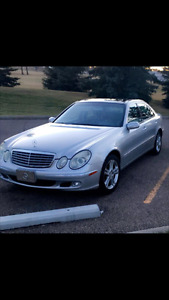 2004 Mercedes-Benz E-Class E500 4Matic Sedan