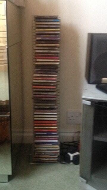 CD holder in chrome