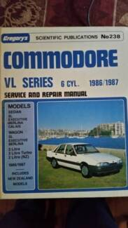 VL Commodore - Gregory's Service & Repair Manual Concord West Canada Bay Area Preview