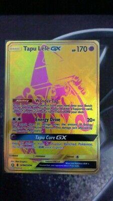 Pokemon Tapu Lele GX sv94/sv94 secret rare mint fresh pulled