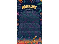 3 PARKLIFE FULL WEEKENDER HARD COPY TICKET FOR SALE (NOT ETICKETS)