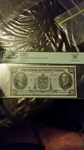 LOOKING FOR BANKNOTES, COINS, SILVER AND GOLD Cambridge Kitchener Area image 1