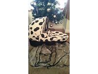 Oyster 1 carrycot dalmation