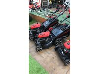 Greenhill 21 inch KEY START power drive lawnmower
