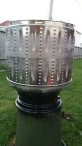 STAINLESS STEEL FIREPIT