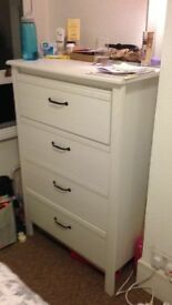 IKEA BRUSALI White drawer bedroom set £100