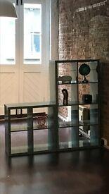 Ikea Kallax Shelving unit or room divider high gloss