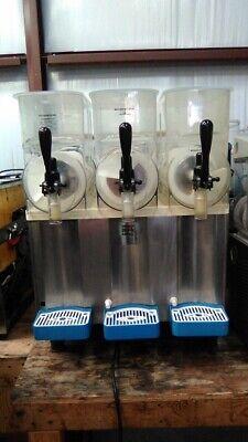 Carpigiani 3 Bowl Slushie Machine Granitaslushiemargarita Machine