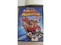 Merry Madagascar DVD
