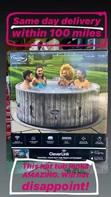 CleverSpa Black Label Waikiki Hot Tub Clever Link NEXT DAY DELIVERY* Clever Spa