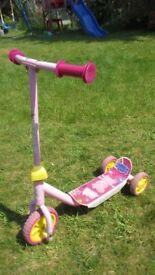 Peppa pig scooter £5