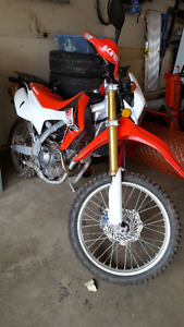 2016 Honda CRF250L - With Modifications