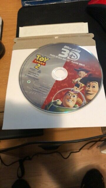 Toy Story 2 blu ray 3d disc only!! low shippng!!