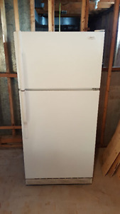 General Electric white concept II designer series refrigerator