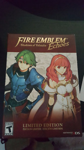 Brand New Fire Emblem Echoes Collectors Edition