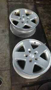 Great Deal - Jeep OEM Rims for sale - with Pressure sensor