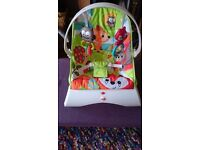 Fisher price woodland bouncer