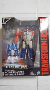 Transformers Leader Titan Returns Powermaster Optimus Prime MISB