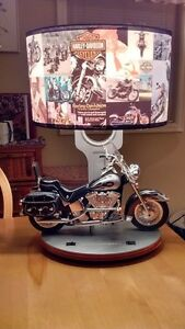 Harley-Davidson table lamp