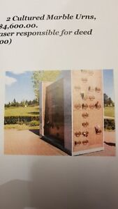 Cremation Companion Niche for 2/ Oceanview Mem. Gardens