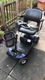 mobility scooter gogo plus 0-4 mph fits in car boot