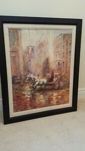 "Horse and Carriage ""Painting"""