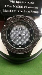 Real diamond ICE MAXX Men's Watch