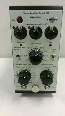 Bruel Kjaer Bk 2635 Charge Amplifier Vibration Testing New - Never Used