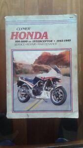 HONDA 700-1000 cc Interceptor 1983-1985