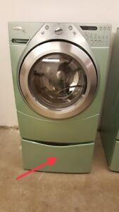 Washer and dryer bases