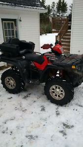 2005 Polaris Sportsman 800 with Factory Plow