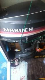 17ft cuddy boat engine and tralier